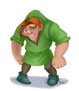 Exhaling and flexing to neutral won't make you Quasimodo. Unless you are Quasimodo.